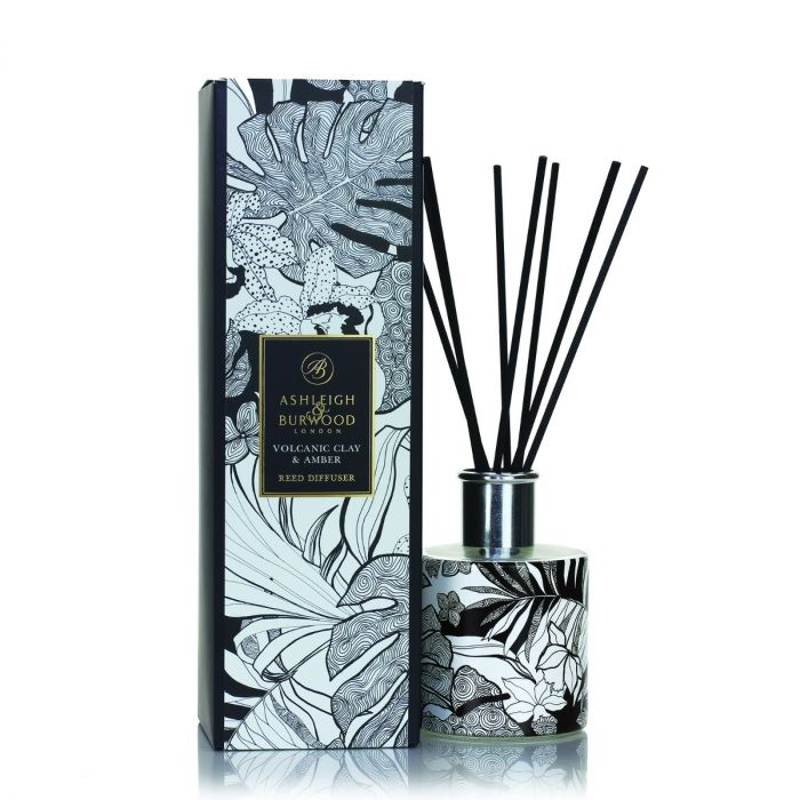 Ashleigh And Burwood Reed Diffuser Botanical Retreat Volcanic Clay And Amber Diffuser 300ml Buy Online Or Call 0191 384 7553