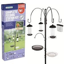 GARDMAN COMPLETE FEEDING STATION KIT FOR WILD BIRDS