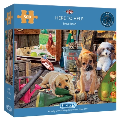 HERE TO HELP 500 PIECE JIGSAW PUZZLE