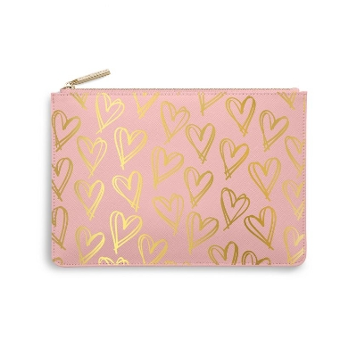 KATIE LOXTON PERFECT POUCH HEART PRINT