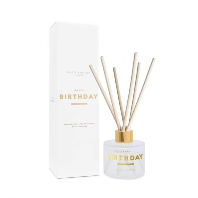 KATIE LOXTON SENTIMENT REED DIFFUSER HAPPY BIRTHDAY POMELO AND LYCHEE FLOWER