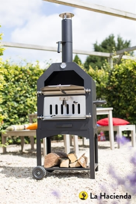 LORENZO PIZZA OVEN AND SMOKER