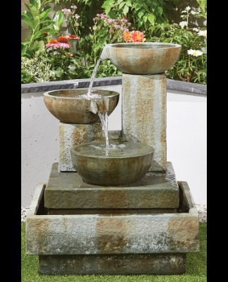 PATINA BOWLS WATER FEATURE