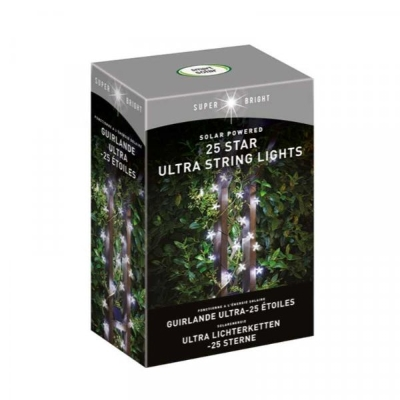 SMART SOLAR 25 STAR ULTRA STRING LIGHTS
