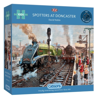 SPOTTERS AT DONCASTER 1000 PIECE JIGSAW PUZZLE