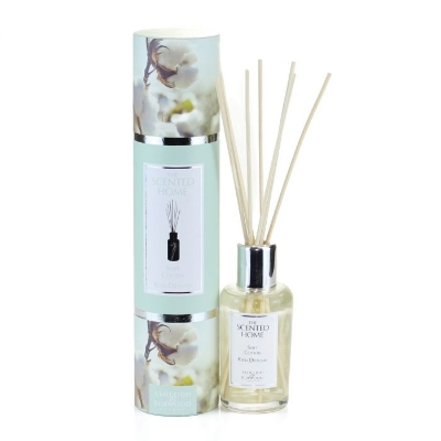 THE SCENTED HOME REED DIFFUSER SOFT COTTON 150ML