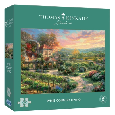 THOMAS KINKADE WINE COUNTRY LIVING 1000 PIECE JIGSAW PUZZLE