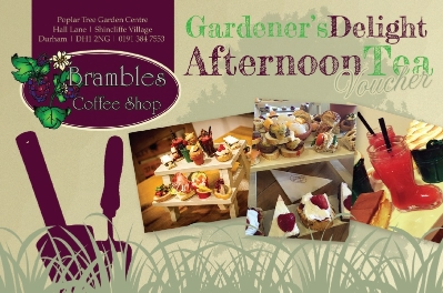 VOUCHER FOR GARDENERS DELIGHT AFTERNOON TEA