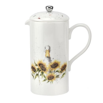 Wrendale Royal Worcester Sunshine' Duck Cafetiere