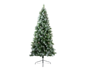 FROSTED NORWICH PINE ARTIFICIAL TREE 210CM (7FT)