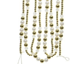 GOLD BEAD GARLAND