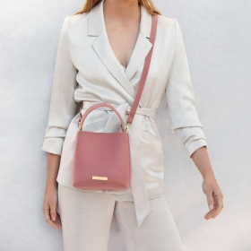 KATIE LOXTON  LUCIE CROSSBODY BAG PINK