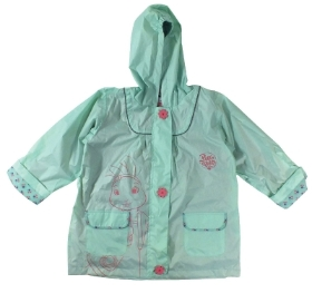 LILY BOBTAIL ADEVETURER RAINCOAT AGES 3 TO 6