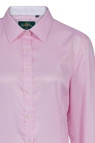 Alan Paine Bromford Ladies Shirt in Pink   Classic Fit