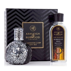 ASHLEIGH & BURWOOD FRAGRANCE LAMP GIFT SET LITTLE DEVIL AND MOROCCAN SPICE