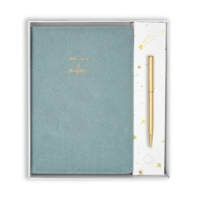 BEAUTIFULLY BOXED A5 NOTEBOOK AND PEN SET ONE IN A MILLION