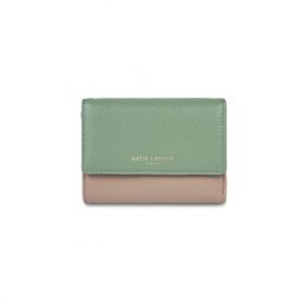 CASEY PURSE TAUPE AND MINT GREEN