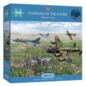 CHANGING OF THE GUARD 1000 PIECE JIGSAW PUZZLE
