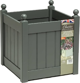CLASSIC PAINTED PLANTER 460 CHARCOAL