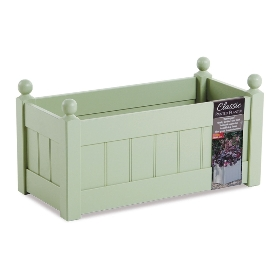 CLASSIC PAINTED TROUGH 660MM SAGE OR CHARCOAL