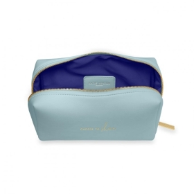 COLOUR POP WASH BAG CHOOSE TO SHINE BLUE