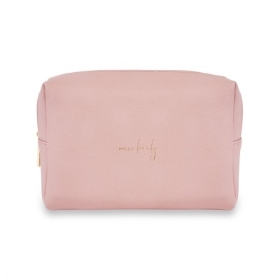 COLOUR POP WASH BAG HELLO LOVELY PALE PINK