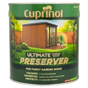 CUPRINOL WOOD PRESERVER GOLDEN OAK 4L