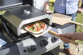 FIREBOX STAINLESS STEEL BBQ PIZZA OVEN