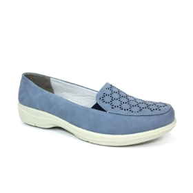 FRANCIS BLUE COMFORT LOAFER