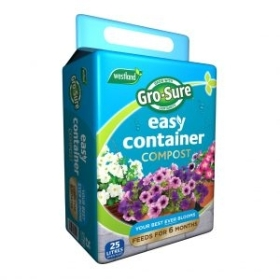Gro Sure Easy Containers Compost   25L