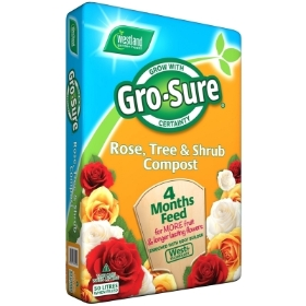 Gro Sure Rose, Tree & Shrub Compost 50L