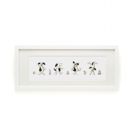 Jellycat Bashful Puppy Framed Print