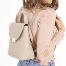 KATIE LOXTON BAILEY BACKPACK WARM GREY