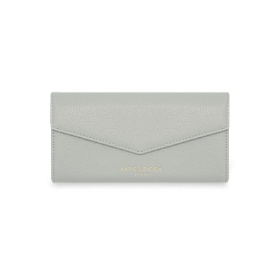 KATIE LOXTON ESME ENVELOPE PURSE MONEY MONEY MONEY GREY