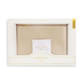 KATIE LOXTON POUCH AND BRACELET GIFT SET MAID OF HONOUR