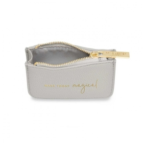 KATIE LOXTON STYLISH STRUCTURED COIN PURSE WONDERFUL MUM STONE