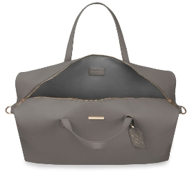 KATIE LOXTON WEEKEND HOLDALL DUFFLE BAG CHARCOAL