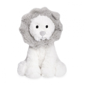 LION BABY TOY YOU'RE ROOAR SOME WHITE AND GREY