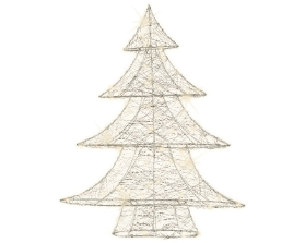 MICRO LED WIRE TREE 60CM WARM WHITE