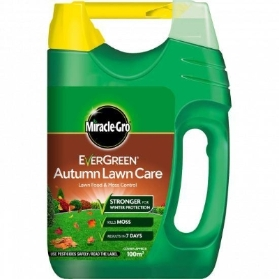 MIRACLE GRO EVERGREEN AUTUMN LAWN CARE WITH SPREADER