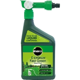 MIRACLE GRO FAST GREEN SPRAY AND FEED