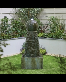 OBELISK FALLS WATER FEATURE (INCLUDES LED)