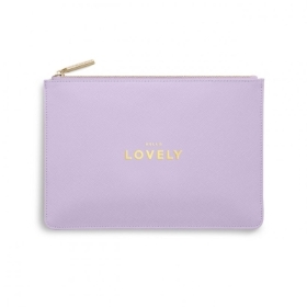 PERFECT POUCH HELLO LOVELY LILAC