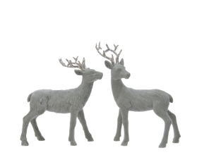 POLY DEER ORNAMENT 2 DESIGNS