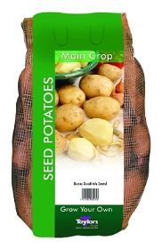 TAYLORS 2KG PENTLAND CROWN MAIN CROP SEED POTATOES