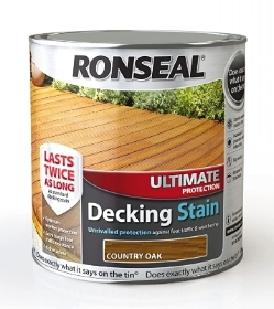 RONSEAL ULTRA DECK STAIN COUNTRY OAK 2.5L
