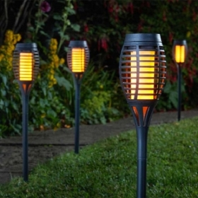 SMART SOLAR PARTY TORCH 5 PACK