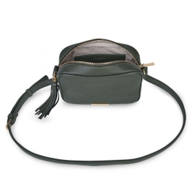 SOPHIA TASSEL BAG SUSTAINABLE STYLE KHAKI
