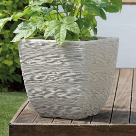 SQUARE COTSWOLD PLANTER 38CM VARIOUS COLOURS