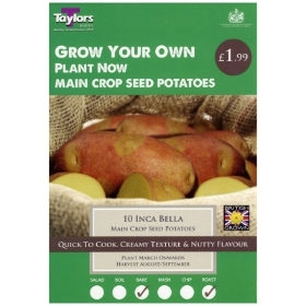 TAYLORS INCA BELLA X10 MAIN CROP SEED POTATOES